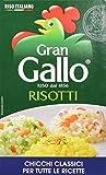 Gallo - Risotti, Chicchi Classici per Tutte le Ricette - 4 confezioni da 1 kg [4 kg]