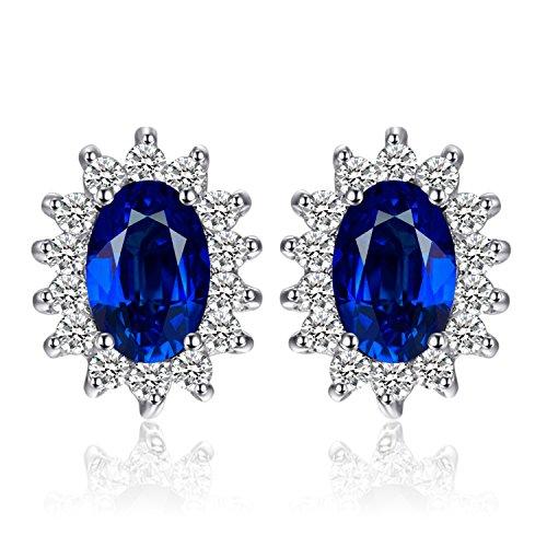 JewelryPalace Pendientes Princesa Diana William Kate