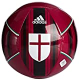 adidas Pallone da Calcio AC Milan Size 5 Rosso