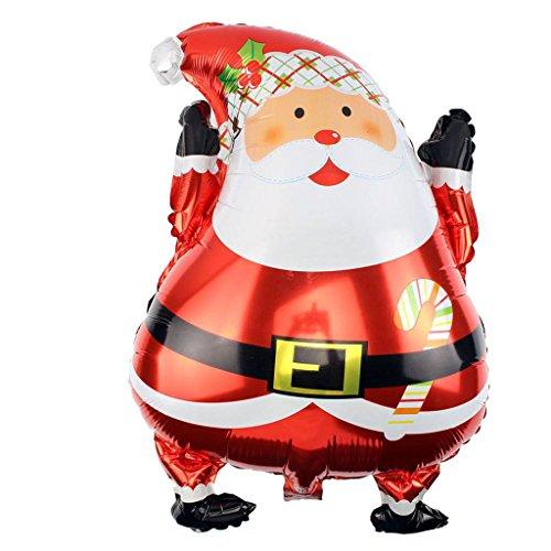 Papaxiong Weihnachten Santa Claus Folie Ballons Helium Ballons Fun Spielzeug Home Party Decor
