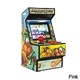 Fiveschoice New Street Fighter Arcade - Mini-Arcade-Handspielkonsole - Klassische Retro 16-Bit-Spielkonsole