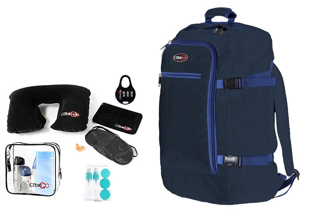 51yxgu68y1L - CABIN GO Mochila cod. MAX 5540 equipaje de mano/cabina de viaje, 55 x 40 x 20 cm, 44 litros de vuelo IATA aprobados/EasyJet/Ryanair