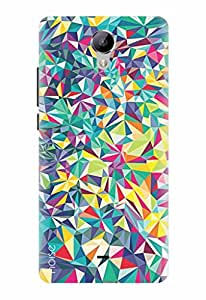 Noise Printed Back Cover Designer Case For Xolo One HD