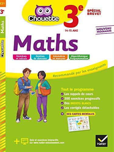 Télécharger Maths 3e Spécial brevet: cahier d'entraînement et de révision gratuit