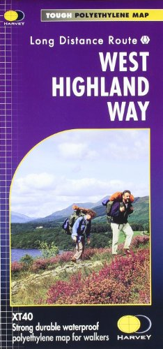 West Highland Way XT40 (Route Map)