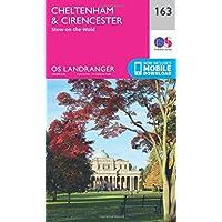 Landranger (163) Cheltenham & Cirencester, Stow-on-the-Wold (OS Landranger Map)