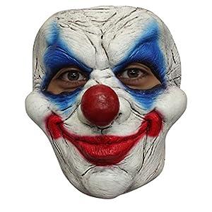 Générique-mahal640-Máscara látex Adulto Payaso-Talla única