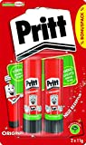 Pritt 1504209 Lot de 2 Bâtons de colle 11 g