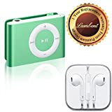 #6: Lambent Colorful Metal Body Mini Clip MP3 player & Earphones 3.5mm Jack With Mic For Apple iPhone5,6 / iPad / iPod