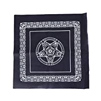 deendeng 49 * 49cm Pentacle Tarot Game Tablecloth Non-woven Material Board Game Textiles