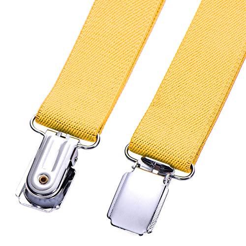 sito autorizzato 100% di alta qualità selezione straordinaria DonDon Bretelle bambino gialle 2 cm fini e regolabili ...