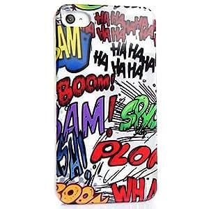 CASEiLIKE ® - Graffiti - Snap-on custodia rigida back cover per iPhone 4 / 4S / 4G / 4GS - con SCREEN PROTECTOR (anteriore e posteriore)