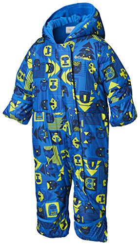 Columbia Schneeanzug für Kinder, Snuggly Bunny Bunting, Polyester, blau (super blue, critter/super blue), Gr. 3/6 Monate, 1516331 Baby Blue Weste