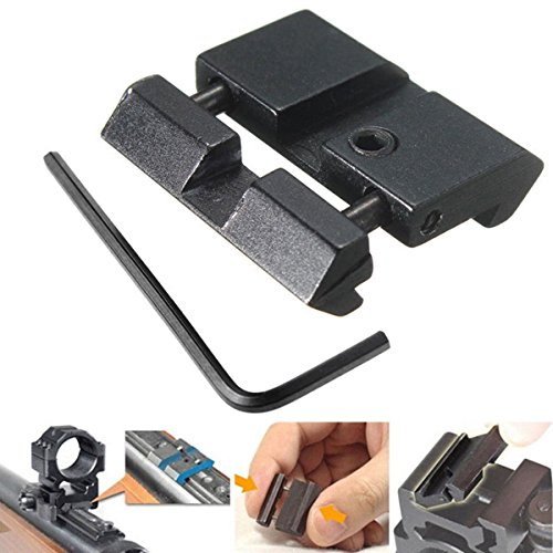 VERY100 11mm/10mm to 20mm/21mm chwalbenschwanz Weaver Picatinny Rail Adapter Mount -