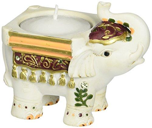FASHIONCRAFT Buena Suerte Elefante portavelas