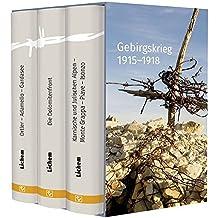 Gebirgskrieg 1915–1918: 3 Bände im Schuber