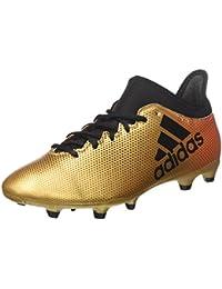 on sale 37c7b 4ef38 adidas X 17.3 Fg, Scarpe da Calcio Uomo, Oro TagomeCblackSolred