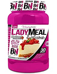 Beverly Nutrition Lady Meal Delicious Proteína Concentrada Mujer Sabor Tarta de Queso Fresa - 1000 gr