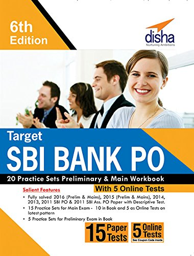 Target sbi bank po 20 practice sets preliminary main workbook with target sbi bank po 20 practice sets preliminary main workbook with 5 online tests fandeluxe Image collections