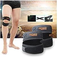 Preisvergleich für Prom-near Patella Knie Bandage patella bandage Sport-Knie-Stützklammer-Wrap-Schutz Doppel-Sacrum-Druckband Fitness-Ausrüstung...