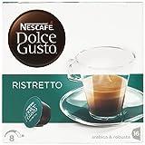 Nescafé Dolce Gusto 12089916 - Cafe Ristretto - Cápsulas de café - 16 cápsulas