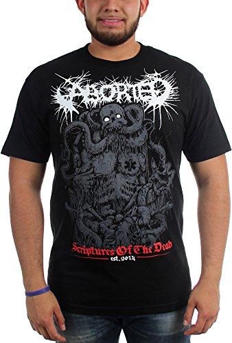 Aborted-Scriptures-Maglietta da uomo nero Large