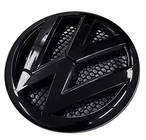 Schwarz glänzend 165mm Vorderes Grill Bonnet Abzeichen Emblem Für Transporter T5, T5.1 & T5.5 2010-2016