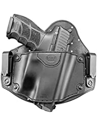 Fobus nouveau IWBL caché report IWB intérieur de la ceinture étui universel Holster pour Glock 20, 21, 22, 31, 37 / Heckler & Koch H&K VP9, VP40, P30 / Beretta PX4 / Sig Sauer P226, P227 / S&M M&P / CZ 75 P-07 Duty, P09 / IWI Jericho 941 Polymer & Steel Frames / Ruger P85, P95 / Springfield XD, XDM / Taurus PT 24/7
