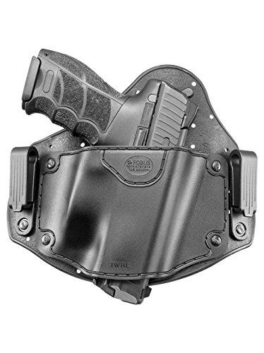 Fobus neu IWBL verdeckte Trage IWB Im Inneren der Gürtel universal Pistolenhalfter Holster für Glock 20, 21, 22, 31, 37 / Heckler & Koch H&K VP9, VP40, P30 / Beretta PX4 / Sig Sauer P226, P227 / S&M M&P / CZ 75 P-07 Duty, P09 / IWI Jericho 941 Polymer & Steel Frames / Ruger P85, P95 / Springfield XD, XDM / Taurus PT 24/7