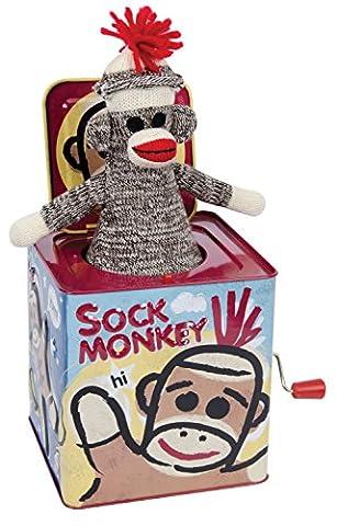 Boîte à musique - Sock Monkey : Diable en boîte