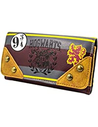 Cartera de Harry Potter Colegio Hogwarts Emblema marrón