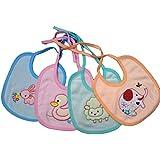 Baby Cotton Bib, Baby Apron Combo Pack Of 4