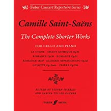 Complete Shorter Works: (Cello and Piano) (Faber Edition)