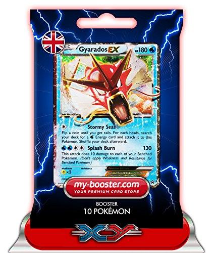 ) XY106 180HP XY09 - Booster mit 10 Englisch Karten Pokemon my-booster ()