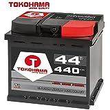 Tokohama Autobatterie 12V 44AH 440A/EN ersetzt 42Ah 45Ah 46Ah 47Ah 50Ah