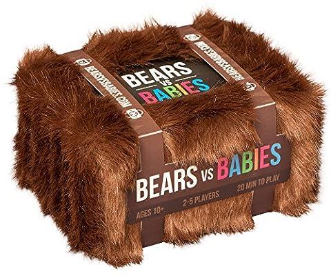 Bears vs Babies: Un jeu de carte par les créateurs de Exploding Kittens – Version anglaise