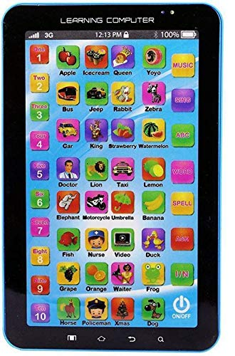 VKemporium P1000 Kids Educational Tablet Toy for Kids Computer Touch Type Learning