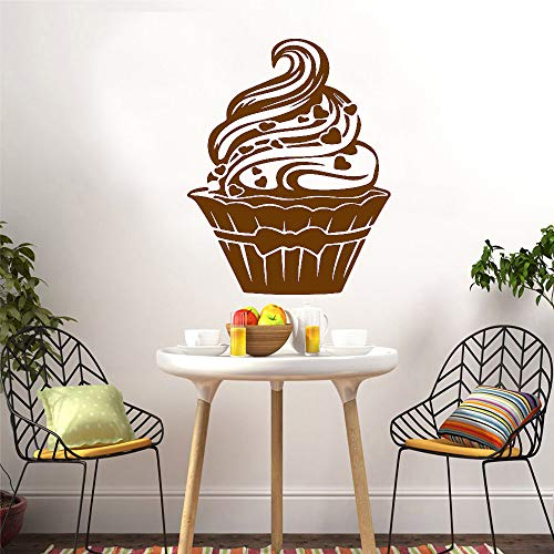 zhuziji Benutzerdefinierte EIS Wohnkultur Moderne Acryl Dekoration Für Kinderzimmer Wohnzimmer Wohnkultur Wandkunst Aufkleber 888-2 L 43 cm X 54 cm