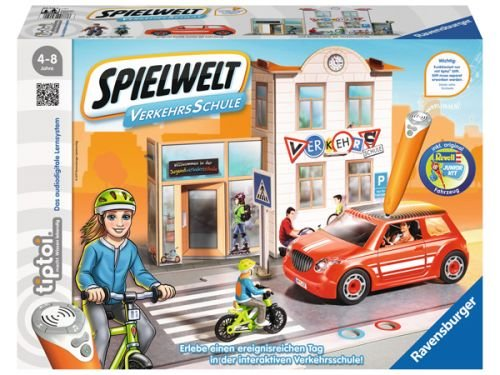 Ravensburger 00777 - Tiptoi Spielwelt Verkehrsschule