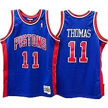 Mitchell & Ness – Detroit Pistons Isiah Thomas – Swingman Jersey Camiseta – Hardwood Classic –