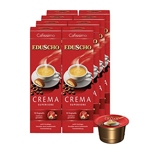 Tchibo Eduscho Cafissimo Crema Superiore Kapseln, 80 Stück