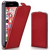 Die besten Iphone 6 Thin-Hüllen - MoEx iPhone 6S Hülle Rot [OneFlow 360° Klapp-Hülle] Bewertungen