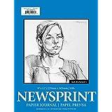 """Jack Richeson 100210 Rough Newsprint 100 Sheet, 9"""" x 12"""""""