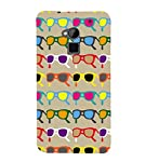 This is Durable 3D Multicolour Specs,Grey,Bollyball Pattern,Amazing Pattern,Designer Case made up of Hard Polycarbonate Plastic and This Case is very much safe for your HTC One Max :: HTC One Max Dual SIM.This is Durable 3D Multicolour Specs,Grey,Bol...