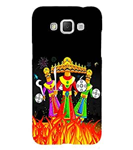 Ravan Clipart 3D Hard Polycarbonate Designer Back Case Cover for Samsung Galaxy Grand 3 G720 :: Samsung Galaxy Grand Max G720