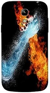 Timpax protective Armor Hard Bumper Back Case Cover. Multicolor printed on 3 Dimensional case with latest & finest graphic design art. Compatible with Samsung I9190 Galaxy S4 mini Design No : TDZ-29045
