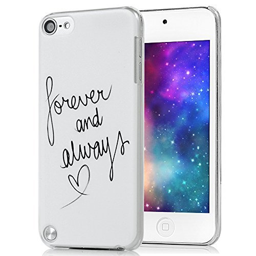 iPod Touch 5 Funda, Lanveni Chic Fundas Carcasas rígida ultrafina para iTouch 5 HardCase(Frases Inglés Diseño)