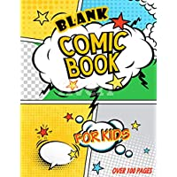 Blank Comic Book for Kids: Variety of Layouts, Sketch Your Own Comics, Blank Comic Book For Kids To Create Their Own Minecraft Stories