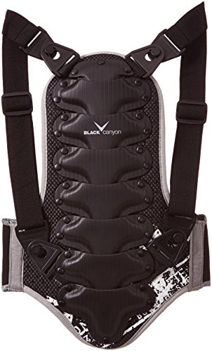 Black Canyon Children and Adult Back Protector - Black, 152 cm