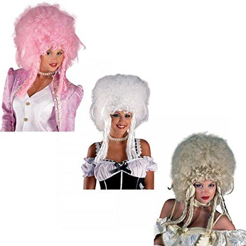 Lady Blonde Perücke (Perücke Rokoko Barock Baronese Damenperücke, Farbe:Blond)
